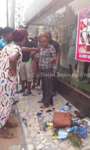 Unbelievable! Female Student Of Nasarawa Polytechnic Runs Mad In Lagos (Photos)