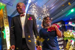 Photos Of Seyi Makinde, Wife And Children At Inauguration Dinner Yesterday