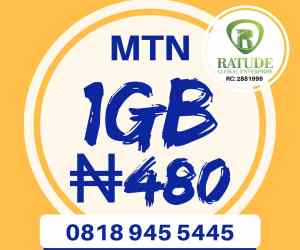 Get 1gb for #500 naira