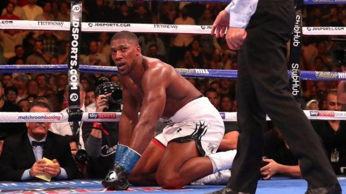 Anthony Joshua Drops Down To Number Four In World Heavyweight Ranking