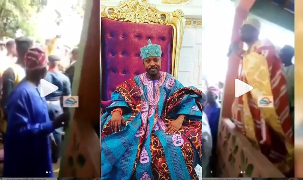 Controversy Rocks Oluwo Of Iwoland After Muslim Cleric Accused Him Of Trying To Sleep With His Wife (Video)