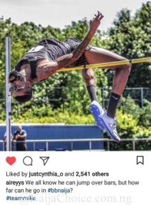 BBNaija: Mike's Amazing Backstroke High Jump Skills Is The Trending Topic Online