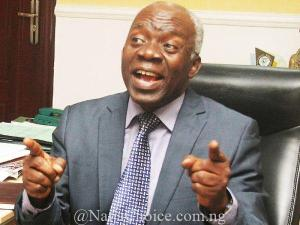 I Am Not Timi Dakolo's Lawyer - Falana Clears The Air