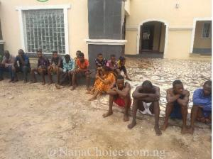 Police Arrest 36 Armed Robbers, Kidnappers, Cultist In Kogi