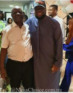 Checkout photo of Hushpuppi with Linda Ikeji's dad and brother in dubai