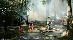 Shocking! Man Blows Himself Up Inside His House On His Daughter's Wedding Day (Photos)