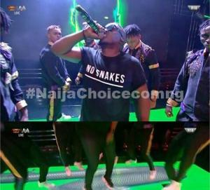 'No Snake': M.I Shades Vector At BBNaija Grand Finale