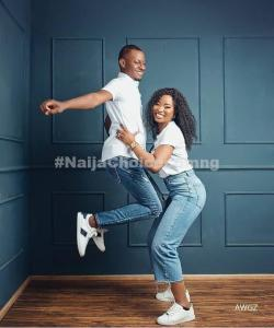 » Lady Lifts Her Man In Cute Pre-Wedding Pictures «