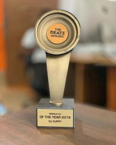 Dj Cuppy Wins Best Female Dj At The Beatz Awards