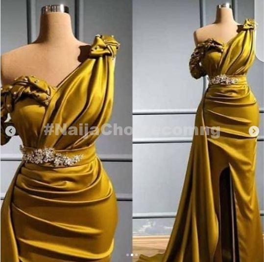 Hillarious! You Won't Believe The Dress A Woman Got After She Ordering Beautiful Dress (Photos)