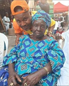 Nigerian Actor, Saidi Balogun's Mother Is Dead