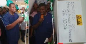 Pastor Adeboye Donates N10m To UCH Ibadan For Machine, Vows To Give N20m More (Video)