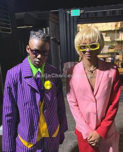 Rema & Jaden Smith were together for Halloween