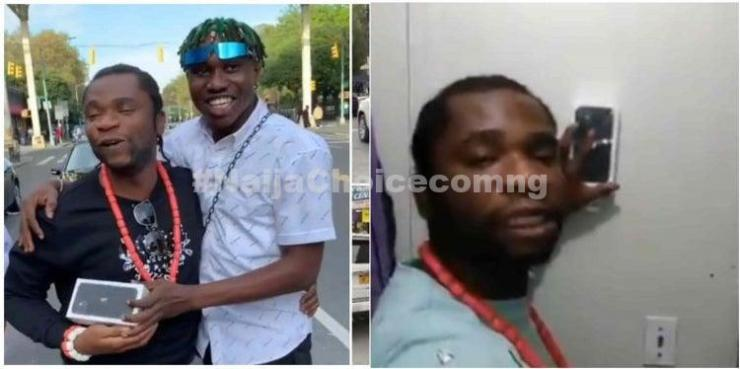 Speed Darlington Wants To Sell The Iphone Zlatan Gifted Him, Zlatan Reacts (Photos)
