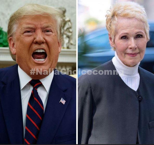 US President,Trump In Serious Trouble As Woman Who Accused Him Of R*pe Sues Him For Defamation
