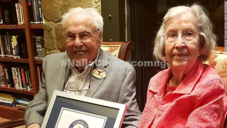 Wow! Meet The Oldest Couple In The World Who Have Been Married For Almost 80 Years (Photos)