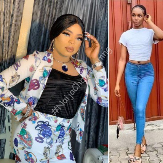 Bobrisky in tears as another cross dresser Jay Boogie takes over from him (Photos)