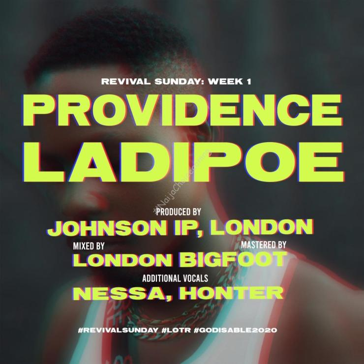 DOWNLOAD MP3: LadiPoe – Providence