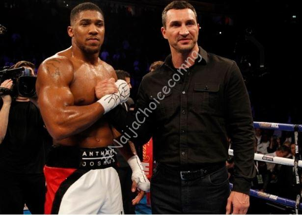 Joshua Gets Help From Legendary Boxer, Klitschko Ahead of Ruiz Rematch
