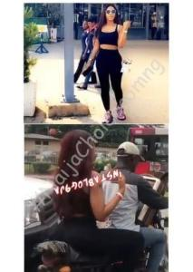 Moment BBNaija 2019 Winner, Mercy Eke Was Spotted On Top Bike In Lagos (Video)