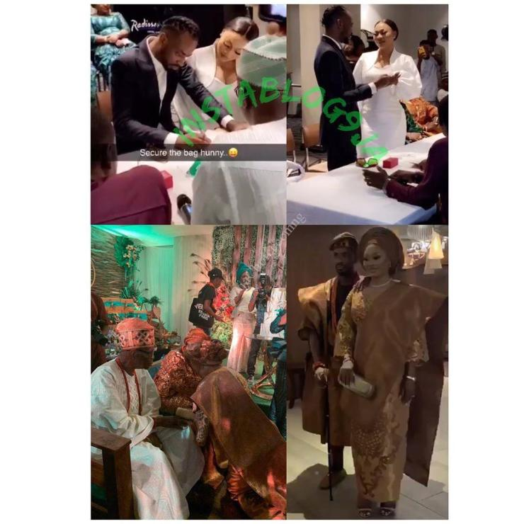 Pictures From 9ice And Sunkanmi's Wedding