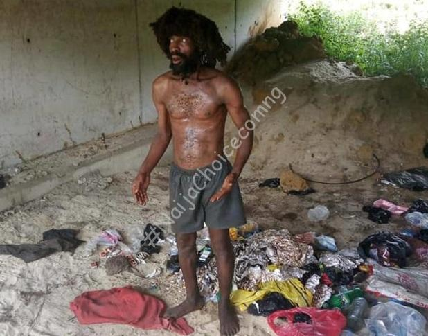 Shock As Suspected Ritualist Disguised As A Mad Man Is Caught In Delta (Photo)