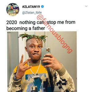 Zlatan Reveals He's Joining The Baby Daddy's Club In 2020