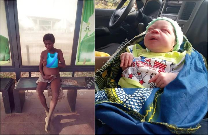 Mentally Challenged Woman Gives Birth To A Cute Baby Boy In Anambra (Photos)
