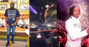 Naira Marley Brought Mompha On Stage At A Concert || Watch Video