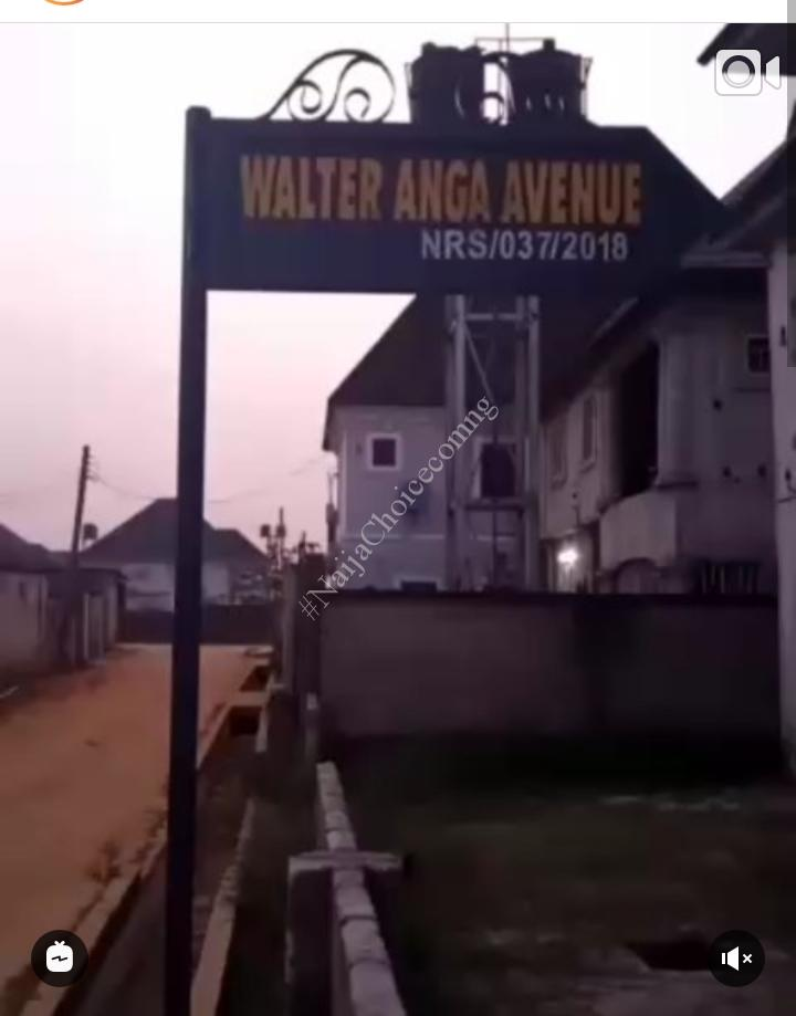 Nollywood Actor, Walter Anga Shows Off His New House, Celebrities React