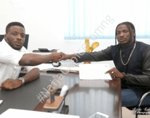 Record producer who claims to have helped Peruzzi before he got recognized, accuses him of betrayal