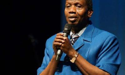 My sons, don't marry a lady that can't cook – Pastor Adeboye