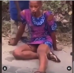 Omg!!! Lady Drinks Sniper As Boyfriend Dumps Her After 4 Years Of Dating (Video)