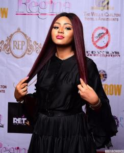 'Regina Married As Virgin': Top Celebrities Storm Regina Daniels' Magazine Unveiling