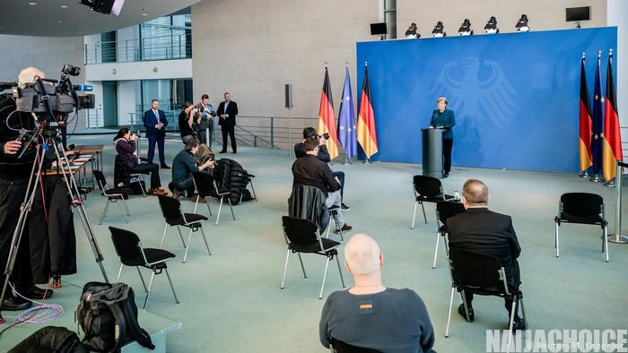 Germany Bans Gathering Of More Than 2 People