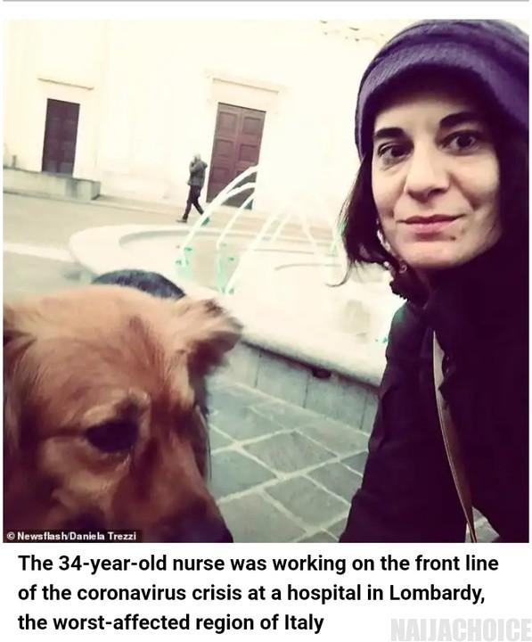 Italian Nurse Commits Suicide After Testing Positive For Coronavirus (Photos)