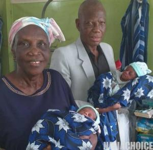 68-Year-Old Woman Delivered Of Twins At LUTH  (Photo)