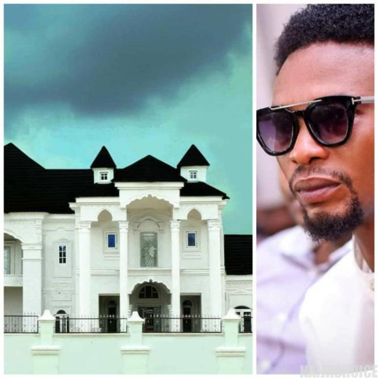 Comedian, I Go Dye, donates his mansion to the Federal government to be used as an coronavirus Isolation center (photos)