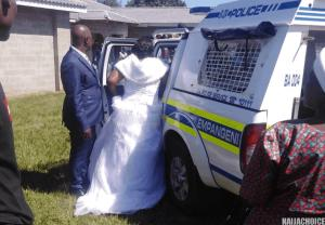 Coronavirus: Bride And Groom Arrested Alongside 40 Guests During Wedding (Photos+Videos)