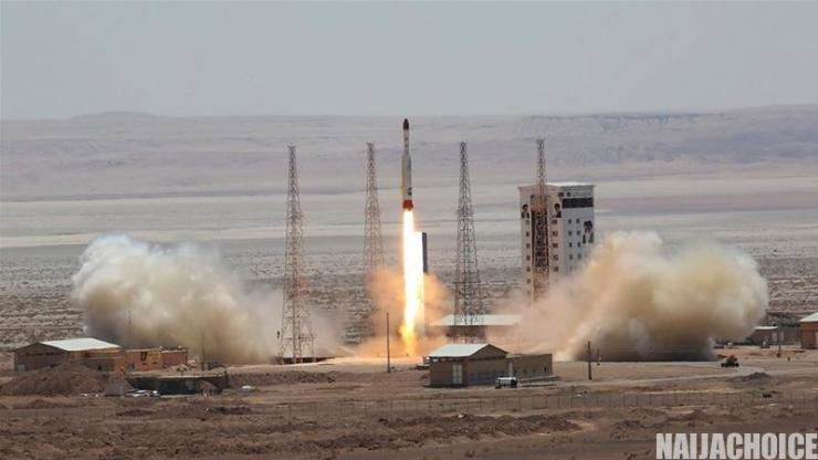 Iran Successfully Launches 1st Military Satellite Into Orbit After Months Of Failure