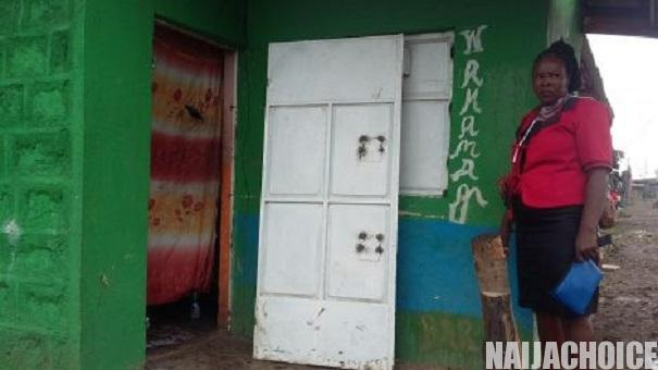 Landlord removes his tenant's door and roof over unpaid rent amid Coronavirus lockdown (photos)