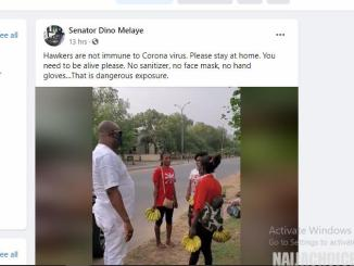 Resign If Politicians Hijack Process at 9:27am Dino Melaye Gives N10k To Each Of The Hawkers He Met On The Road