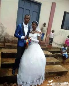 15-Year-Old Only Son Marries 22-Year-Old Lady  In Abia (Photos)