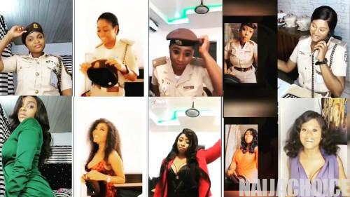 5 Female Employees Of Immigration Who Participated In Falz 'Don't Rush' Redeployed