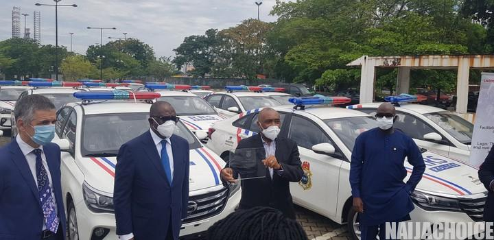 Dangote Group Donates 35 Security Cars To Lagos State Government (Pics)