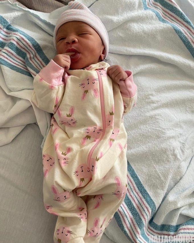 KraksTV's Femi Bakre welcomes daughter with lovely wife, Mory Coco