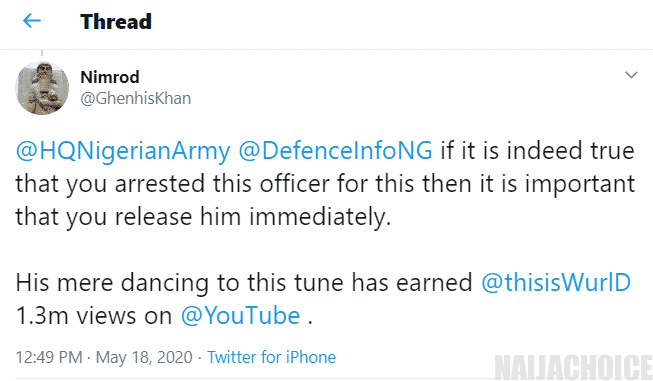 "Nigerian soldier who showed off his amazing ""leg work"" dancing skills has allegedly been arrested"