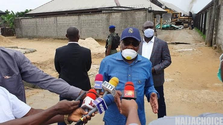 Rivers State Converts Site Of Demolished Hotel  To Primary School