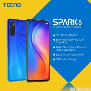 TECNO Spark 5 Series Unveiling: Images, Specifications And Price