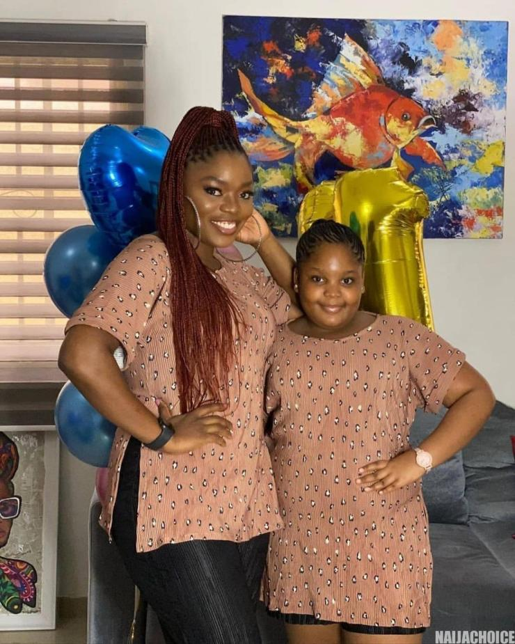 Bisola Celebrates Daughter's 11th Birthday With Heartmelting Photos